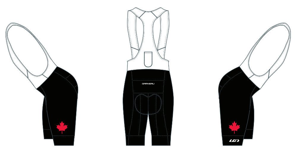 Bib Shorts Left/Right View